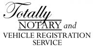 Totally Notary and Vehicle Registration Service Logo